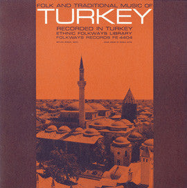 Folk and Traditional Music from Turkey (1953)  CD