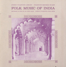 Folk Music of India (1950)  CD
