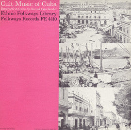 Cult Music of Cuba (1951)  CD