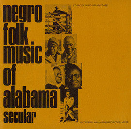 American Folk Anthologies  Negro Folk Music of Alabama, Vol. 1, Secular Music (1951) CD