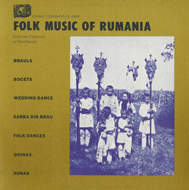 Folk Music of Romania (1951)  CD