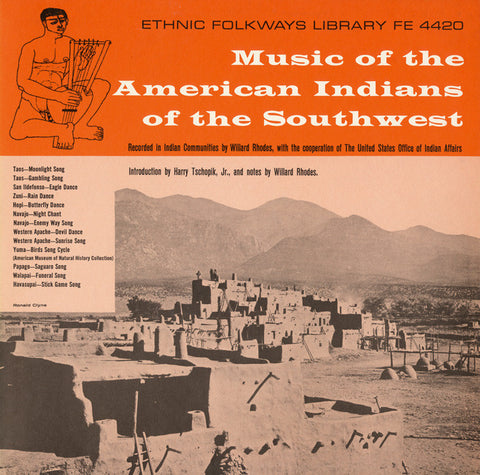 Music of the American Indians of the Southwest (1951)  CD