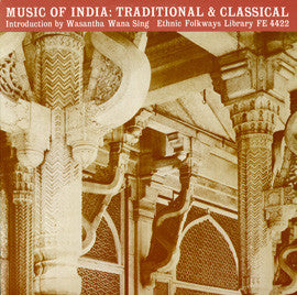 Music of India  Traditional and Classical (1951)  CD