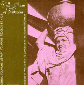 Folk Music of Pakistan (1951)  CD