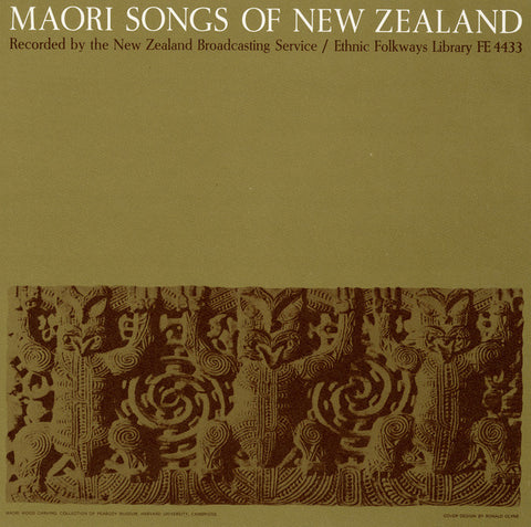 Moari Songs of New Zealand (1952)  CD