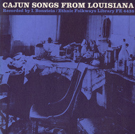 Cajun Songs from Louisiana (1956)  CD