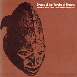 Drums of the Yoruba of Nigeria CD