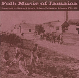 Folk Music of Jamaica (1956)  CD