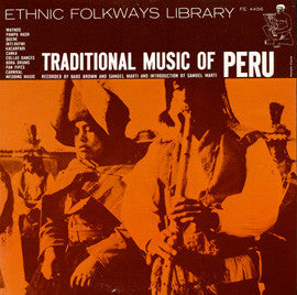Traditional Music of Peru (1958)  CD