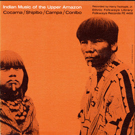 Indian Music of the Upper Amazon (1954)  CD