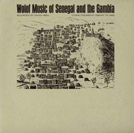 Wolof Music of Senegal and the Gambia CD