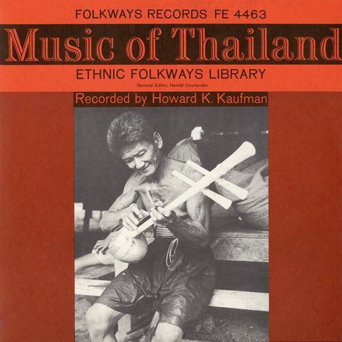 Music of Thailand (1959)  CD
