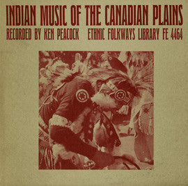 Indian Music of the Canadian Plains (1955)  CD