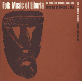 Folk Music of Liberia CD