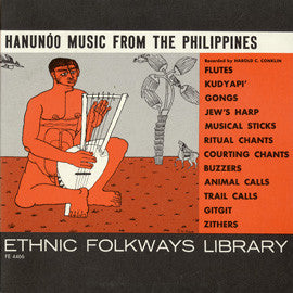 Hanunoo Music from the Philippines (1955)  CD