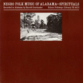 American Folk Anthologies  Negro Folk Music of Alabama, Vol. 5, Spirituals with Dock Reed and Vera Hall Ward (1950) CD