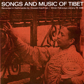 Songs and Music of Tibet (1962)  CD
