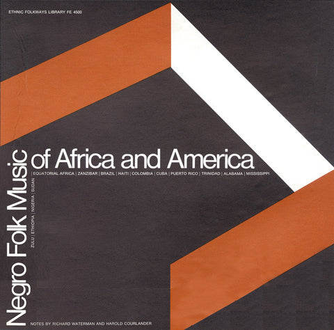 Negro Folk Music of Africa and America (1951)  CD