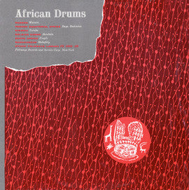 African and Afro-American Drums (1954)  CD