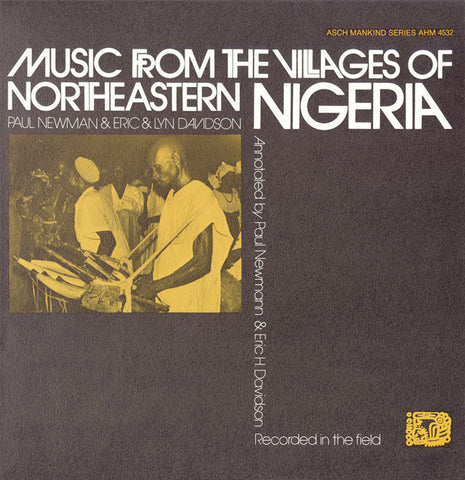 Music from the Villages of Northeastern Nigeria (1971) 2 CD Set