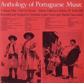 Anthology of Portugese Music, Vol. 1  Tras-Os-Montes and Vol. 2  Algarve (1962)  2 CD Set