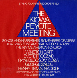 Kiowa Peyote Meeting (1965)  2 CD Set