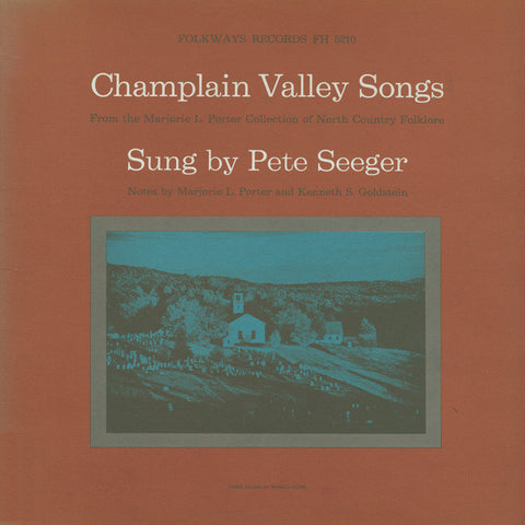 Pete Seeger  Champlain Valley Songs (1960) CD