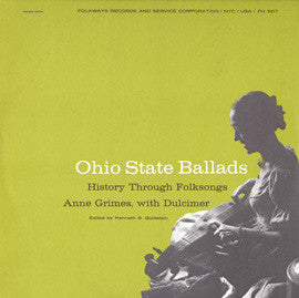 Anne Grimes  Ohio State Ballads (1957) CD