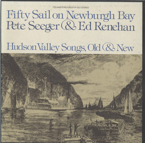 Pete Seeger  Fifty Sail on Newburgh Bay (1976) CD