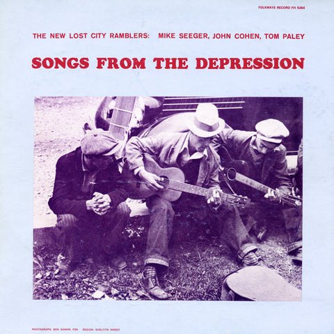 New Lost City Ramblers  Songs from the Depression (1959) CD