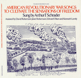 American Revolutionary War Songs to Cultivate the Sensations of Freedom CD
