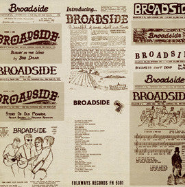 American Folk Anthologies  Broadside Ballads Vol. 1,  Blind Boy Grunt, Phil Ochs, Peter La Farge and others (1963) CD