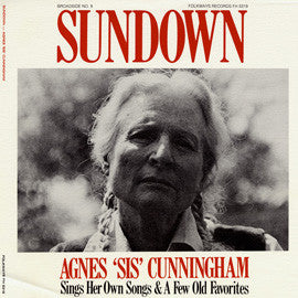 "American Folk Anthologies  Broadside Ballads Vol. 9, Sundown Agnes ""Sis"" Cunningham (1961) CD"