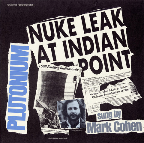 Mark Cohen  Plutonium (1979) CD