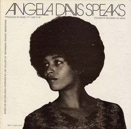 Angela Davis Speaks CD