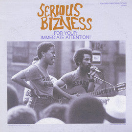 Serious Bizness  For Your Immediate Attention! (1982) CD