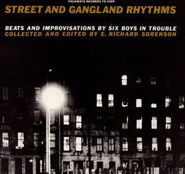 Street and Gangland Rhythms  Beats and Improvisations for Six Boys in Trouble (1959)  CD
