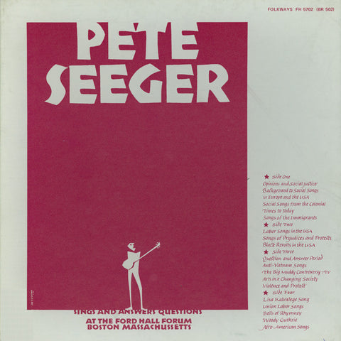 Pete Seeger  Sings and Answers Questions (1968) CD