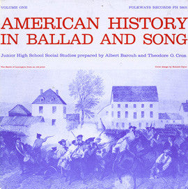 American History in Ballad and Song, Vol.1 CD