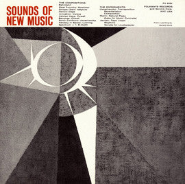 Sounds of New Music  Cage, Cowell, Varese, Ussachevsky and others (1957) CD