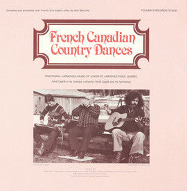 French Canadian Country Dances (1982)  Jean-Marie Verret CD