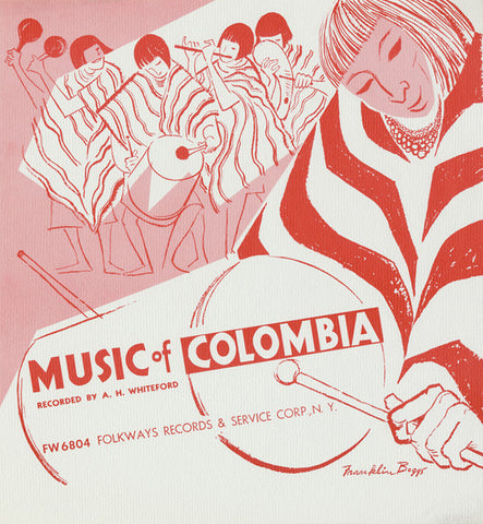 Music of Colombia (1954)  CD
