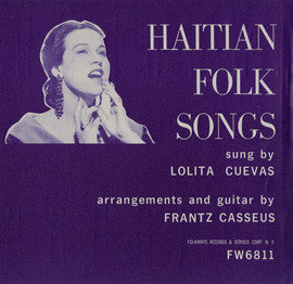 Haitian Folk Songs (1953)  Lolita Cuevas CD