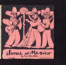 Songs of Mexico, Vol. 1 (1950)  Trio Aguilillas CD