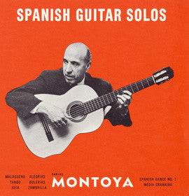 Spanish Guitar Solos (1950)  Carlos Montoya CD