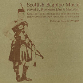 Scottish Bagpipe Music (1951)  John MacLellan CD