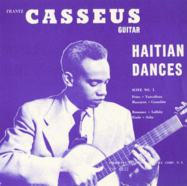 Haitian Dances (1954)  Franz Casseus CD