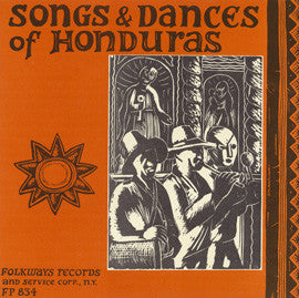 Songs and Dances of Honduras (1955)  CD
