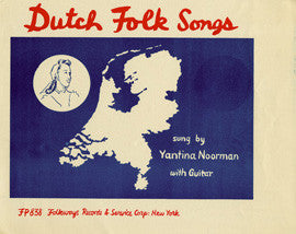 Dutch Folk Songs (1955)  Jantina Noorman CD