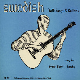 Swedish Folksongs and Ballads (1954)  Sven-Bertil Taube CD